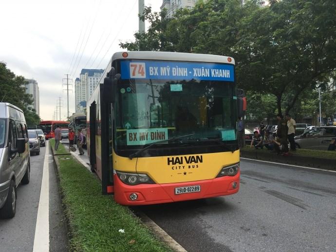Xe bus đi vườn quốc gia Ba Vì