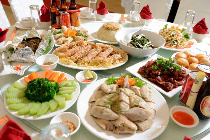 Những món ăn trong đám cưới miền Trung