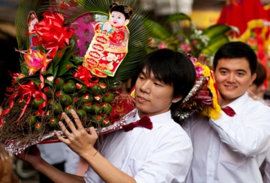 Phong tục lễ cưới của người Trung như thế nào